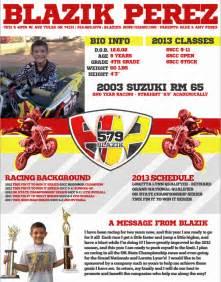 Motocross Sponsorship Resume by Motocross Sponsorship Mxm Nation