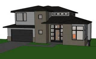 Home Plans For Sloping Lots by Contemporary House Plan For Sloping Lot Youtube