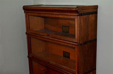 Lawyer Cabinet vintage oak lawyers cabinet lot 295