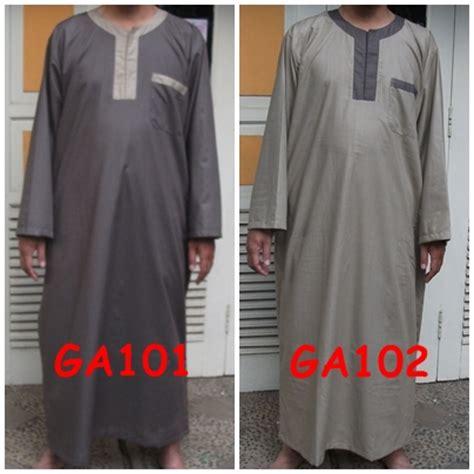 Baju Gamis Laki Laki Arab Rumah Produksi Busana Muslim Libasuttaqwa Bandung Gamis