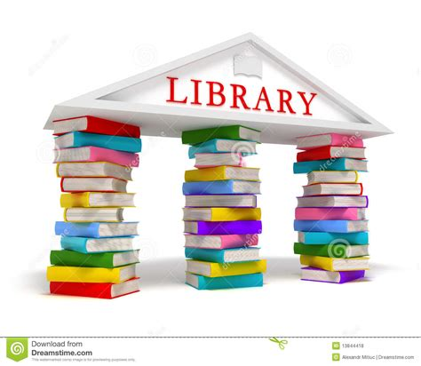 Library Books Icon Stock Illustration Illustration Of Icon 13844418 Free Book Images
