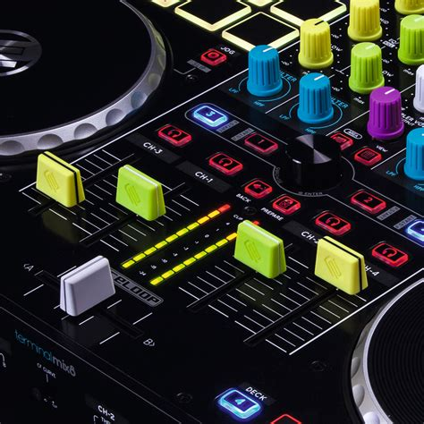 new reloop color fader and knob caps news audiofanzine