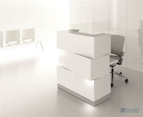 Small Receptionist Desk Zen Small Reception Desk Msl Interiors