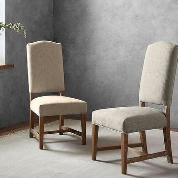 Upholstered Dining Chairs Sydney Park Sydney Beige Traditional Wing Dining Chair
