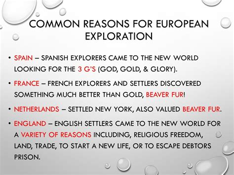 European Exploration Of The New World Essay by Exploration Colonization Ppt