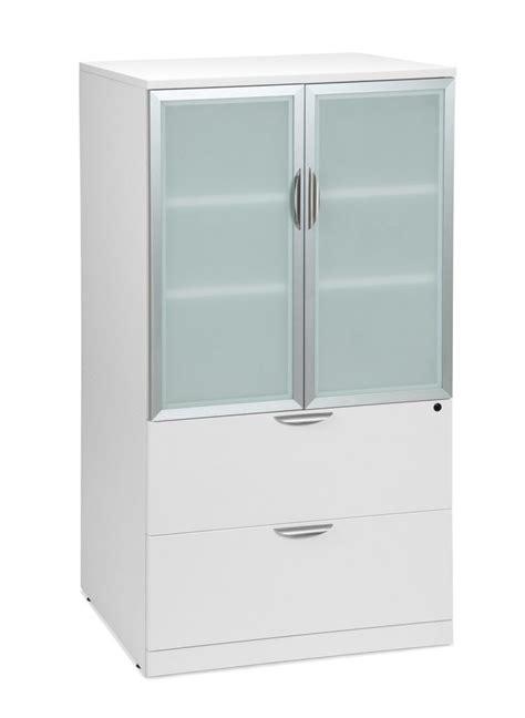 Glass File Cabinet Glass Door