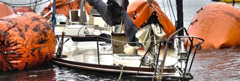 boat salvage devon salvage millennium marine contractors