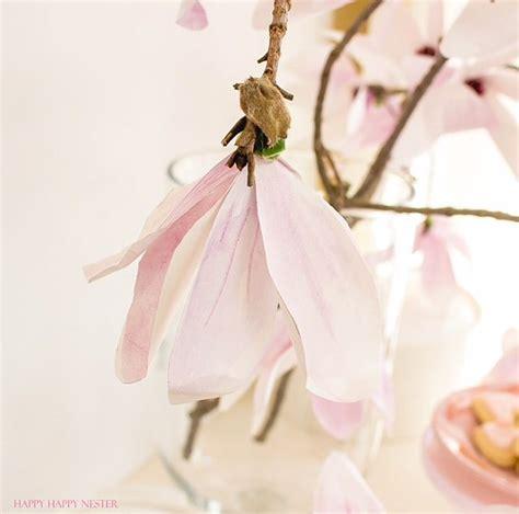 magnolia paper flower tutorial paper flower tutorial magnolia flowers happy happy nester