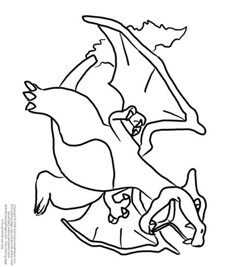mega charizard coloring pages coloring pages