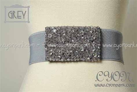 Ban Ikat Pinggang Sabuk Belt Fashion Wanita Biru Stud Emas fashion belt koleksi terbaru all sold out butik