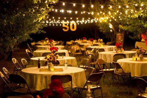 5 amazing 50th wedding anniversary ideas