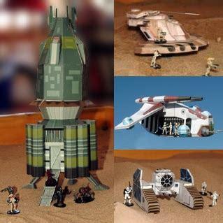 Wars Papercraft Models - wars miniature gaming paper models