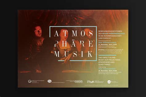 werkstatt poster atmosph 228 re musik workshop poster research design