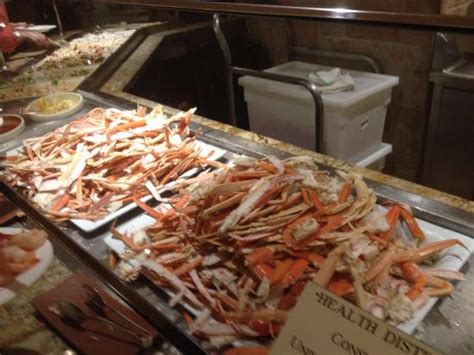 king crab legs picture of the buffet at bellagio las