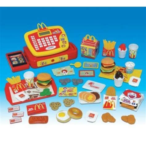 mcdonalds pretend play food set for