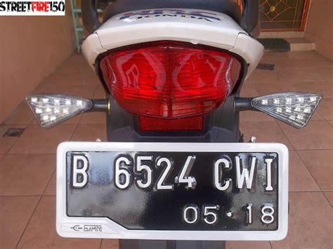 Sein Belakang Kiri Cb 150 R Streetfire 33650 K15 901 streetfire 150 modifikasi cb150r ringan namun keren updated