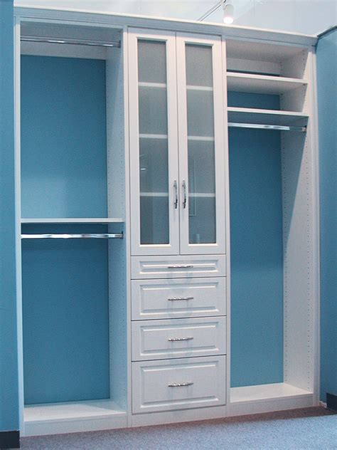 Closet Design by Customize Your Reach In Closets With Closet Concepts