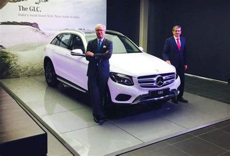Mercedes Which Country Made Mercedes Launches 9th Locally Assembled Model Glc Suv At