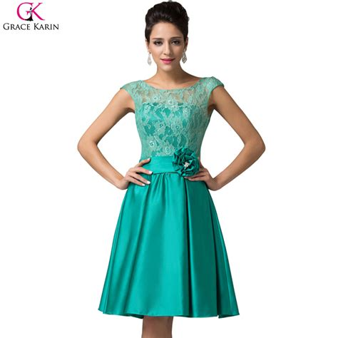 by color cheap prom dresses 2016 mother of bride gown elegant short evening dresses 2016 grace karin sleeveless