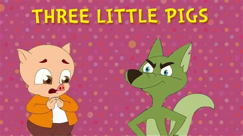 the three little pigs b0143w1c4s three little pigs and the big bad wolf fairy tales animated cartoon stories youtube