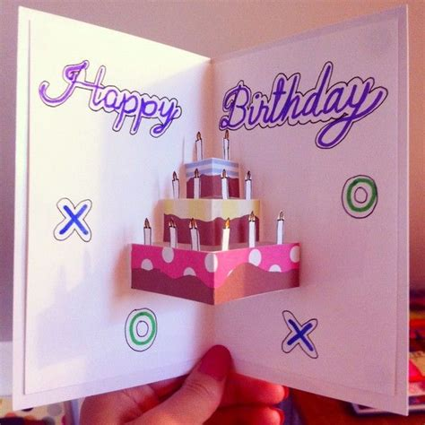 Handmade Birthday Ideas - 37 birthday card ideas and images card ideas