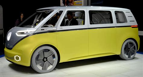 electric volkswagen van vw minibus camper concept new shape volkswagen electric