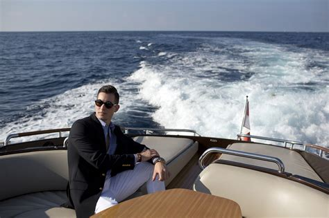 boat lifestyle yachting lifestyle aboard riva with brooks brothers