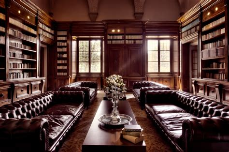 home libraries elegant leather furniture luxury home library old library