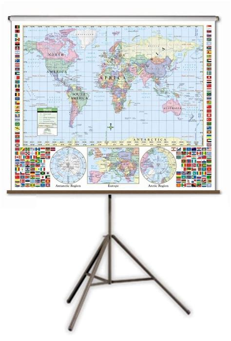 what does map stand for tripod wall map stand