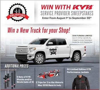Advance America Sweepstakes 2017 - kyb americas announces win with kyb sweepstakes