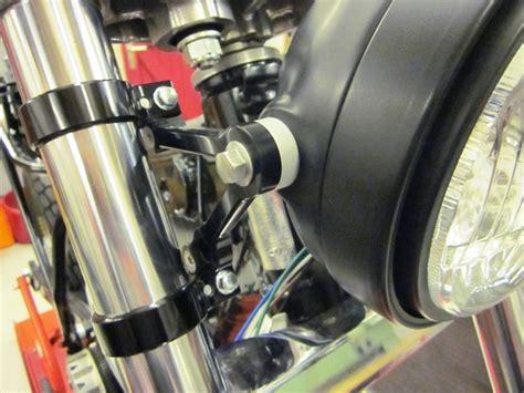 Scheinwerferhalter Motorrad by Vize Scheinwerfer Unterst 252 Tzung Motorrad Halterungen