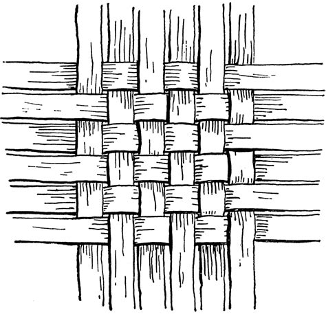 weaving pattern drawing checker work basket weave clipart etc