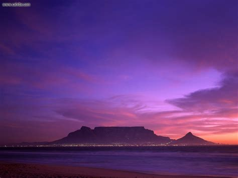Table Mountain South Africa by Nature Table Mountain South Africa Picture Nr 16424
