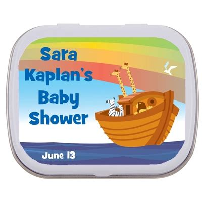 Baby Shower Mint Tins by Noah S Ark Baby Shower Mint Tin