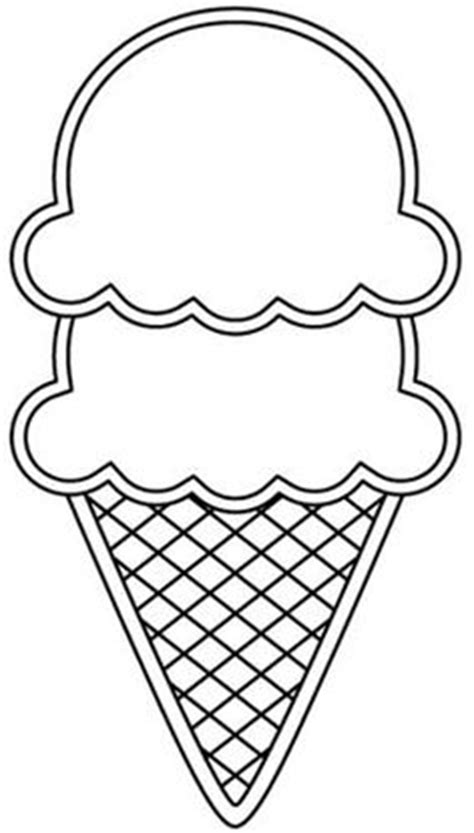 empty ice cream cone coloring page the gallery for gt empty ice cream cone coloring page