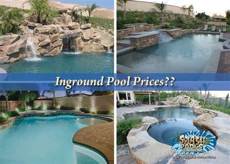 inground pool prices archives 187 splash