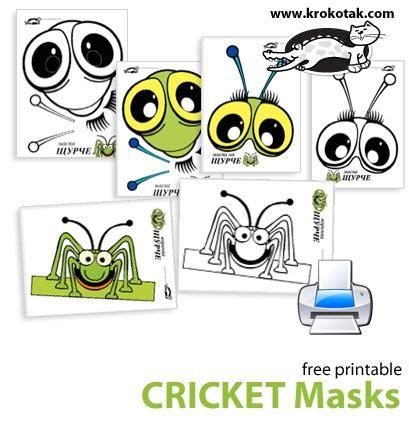bug masks for templates cricket masks mask and costume masks