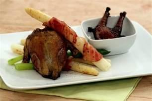 recette de pigeon r 244 ti 224 l ail fricass 233 e d asperges