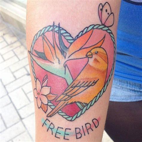 canary tattoo canary island by meri trece m 225 laga spain