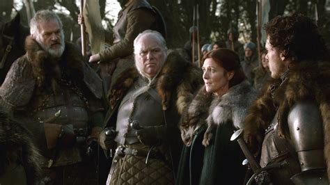 game of thrones house umber catelyn and robb with cassel and umber house stark photo 31188632 fanpop