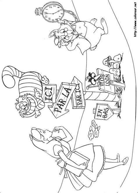 Dibujos Para Colorear De Alicia En El Pa 237 S De Las Maravillas Percy The Coloring Pages