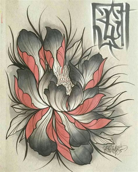 tattoo designs oriental flowers pin by tuan art on hoa pinterest tattoo japanese and