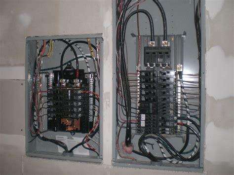 Garage Sub Panel by Pin Wiring Garage Sub Panel Ajilbabcom Portal On
