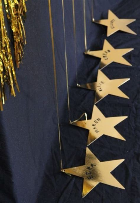 ideas  decorar  glamour una fiesta en casa