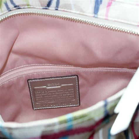 Poppie Couture Foldover Bag by Coach Poppy Ikat Signature Foldover Crossbody Bag Handbag