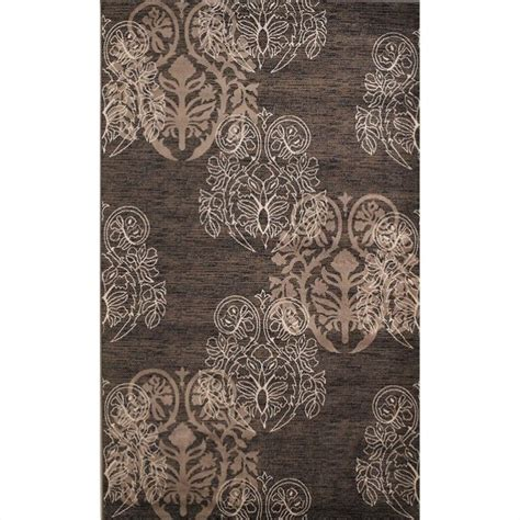 Rugs Rectangular Area Rug In Brown And Beige Rug Mn26xx Brown And Beige Area Rug