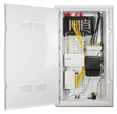 home network cabinet design leviton 49605 30w rf transparent structured media