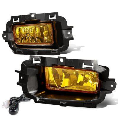 chevy silverado 1500 2014 2015 yellow fog lights