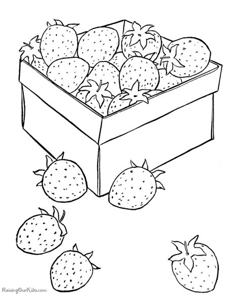 free coloring pages of shopkins strawberry