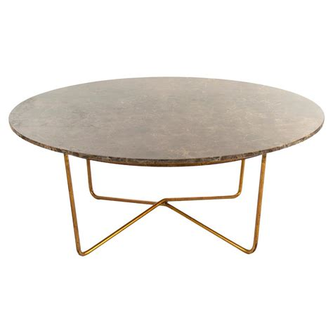 fonda regency quartz gold coffee table